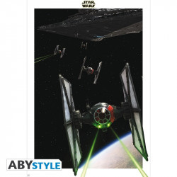 Poster - Star Wars - Tie Figher - 98 x 68 cm - ABYstyle