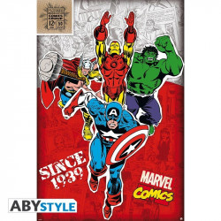 Poster - Marvel - Héros 1939 - 91.5 x 61 cm - ABYstyle