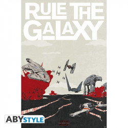 Poster - Star Wars - Rule the Galaxy - 91.5 x 61 cm - ABYstyle