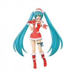 Figurine - Vocaloid - Hatsune Miku Diva F 2nd Christmas - SEGA