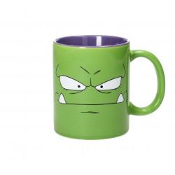 Mug / Tasse - Dr Slump - King Nikochan Green-Purple - 33 cl - SD Toys