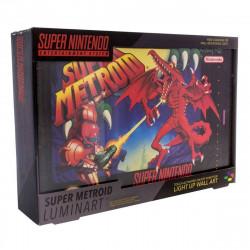 Lampe - Super Nintendo - Super Metroid - Paladone Products