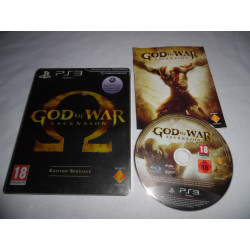 Jeu Playstation 3 - God of War : Ascension Edition Speciale - PS3