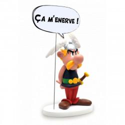 Figurine - Astérix - Collectoys - Astérix Bulles Ca m'énerve - Plastoy