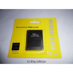 Accessoire - Playstation 2 - Carte Mémoire 16Mb - PS2