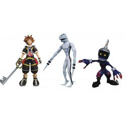 Figurine - Kingdom Hearts - Pack Sora Dusk Soldier - Diamond Select
