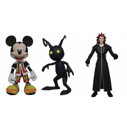 Figurine - Kingdom Hearts - Pack Mickey Mouse Axel Shadow - Diamond Select