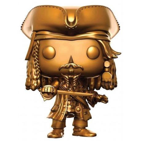 Figurine - Pop! Movies - Pirates des Caraïbes - Jack Sparrow Gold - Funko