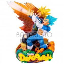 Figurine - Dragon Ball Super - Master Stars - Vegeta and Trunks - Banpresto