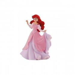 Figurine - Disney - La Petite Sirène - Ariel robe rose - Bullyland