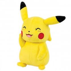 Peluche - Pokémon - Smiling Pikachu - 20 cm - Tomy