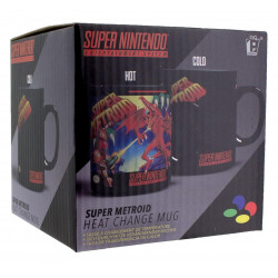 Mug / Tasse - Nintendo - Super Metroid Heat Change (Thermique) - Paladone Products