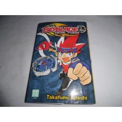 Manga - Beyblade Metal Fusion - No 1 - Takafumi Adachi - Kazé