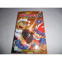 Manga - Beyblade Metal Fusion - No 4 - Takafumi Adachi - Kazé