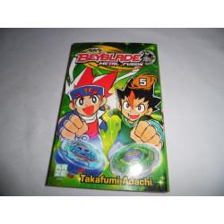 Manga - Beyblade Metal Fusion - No 5 - Takafumi Adachi - Kazé