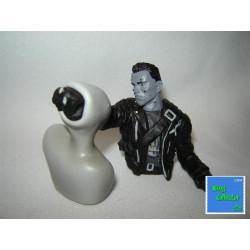 Figurine - Terminator 2 - T800 vs T1000 - Version Noir & Blanc - Mirage