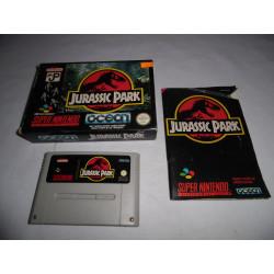 Jeu Super Nintendo - Jurassic Park - SNES