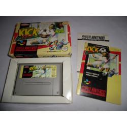Jeu Super Nintendo - Kick Off - SNES