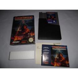 Jeu NES - Iron Sword Wizards & Warriors II
