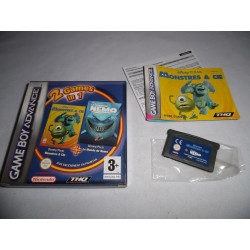 Jeu Game Boy Advance - 2 Games in 1 Monstres & Cie / Le Monde de Nemo - GBA