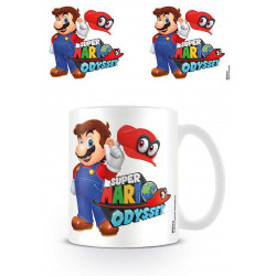 Mug / Tasse - Nintendo - Super Mario Odyssey - Mario with Cappy - Pyramid International