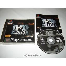 Jeu Playstation - Hidden & Dangerous - PS1