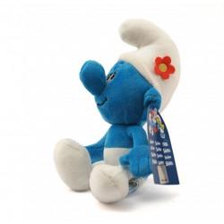 Peluche - Les Schtroumpfs - Schtroumpf coquet - 15 cm - Puppy