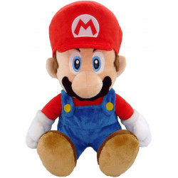 Peluche - Super Mario Bros. - Mario - 35 cm - Little Buddy Toys