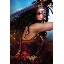 Poster - DC Comics - Wonder Woman Defend - 61 x 91 cm - GB eye