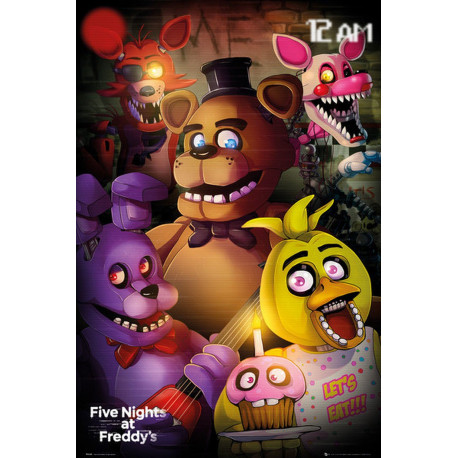 Poster - Five Night at Freddy's - Group - 61 x 91 cm - GB eye