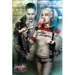 Poster - Suicide Squad - Joker & Harley Quinn - 61 x 91 cm - GB eye