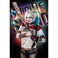 Poster - DC Comics - Suicide Squad - Harley Quinn Good Night - 61 x 91 cm - GB Eye
