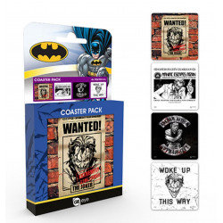Sous-Verres - DC Comics - Joker - GB Eye