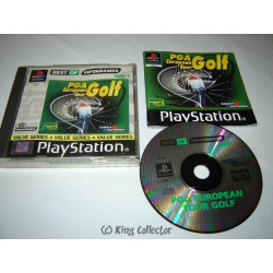 Jeu Playstation - PGA European Tour Golf (Best Of) - PS1