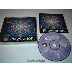 Jeu Playstation - Qui veut gagner des millions ? - PS1
