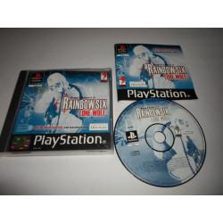 Jeu Playstation - Rainbow Six Lone Wolf - PS1