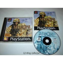 Jeu Playstation - Spec Ops : Airborne commando - PS1