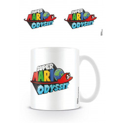 Mug / Tasse - Nintendo - Super Mario Odyssey - Logo - Pyramid International
