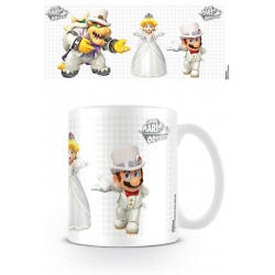 Mug / Tasse - Nintendo - Super Mario Odyssey - Who Will She Choose - Pyramid International