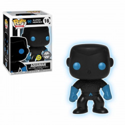 Figurine - Pop! Heroes - Justice League - Aquaman Silhouette - Vinyl - Funko