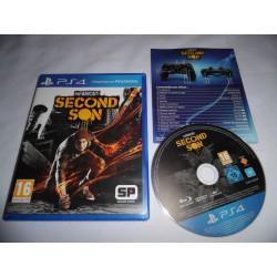 Jeu Playstation 4 - inFamous Second Son - PS4