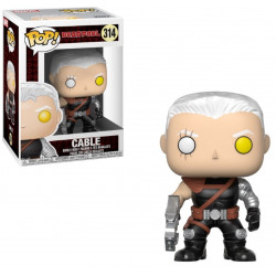 Figurine - Pop! Marvel - Deadpool - Cable - Vinyl - Funko