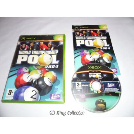 Jeu Xbox - World Championship Pool 2004