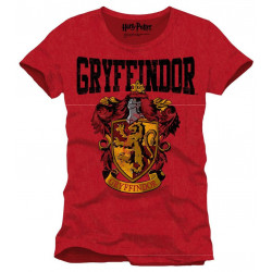 T-Shirt - Harry Potter - Gryffindor Crest - Cotton Divison