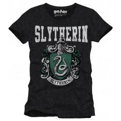 T-Shirt - Harry Potter - Slytherin Crest - Cotton Divison