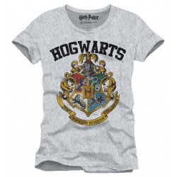 T-Shirt - Harry Potter - Hogwarts Crest - Cotton Divison