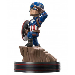 Figurine - Q-Fig - Marvel - Civil War Captain America - QMX
