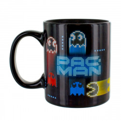 Mug / Tasse - Pac-Man - Neon Heat Change (Thermique) - Paladone Products