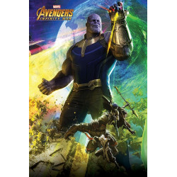 Poster - Marvel - Avengers Infinity War - Thanos - 61 x 91 cm - Pyramid International