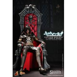 Figurine - Captain Harlock - Movie Masterpiece 1/6 - Albator avec trône - Hot Toys